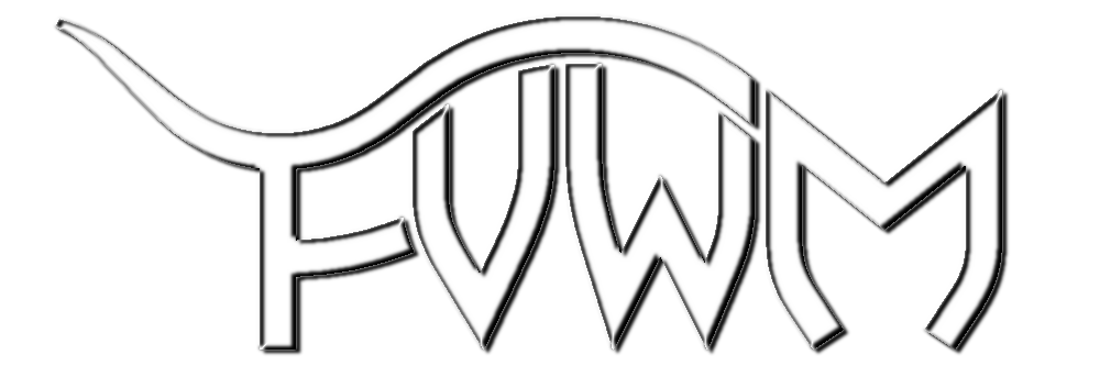 FVWM Logo Chrome